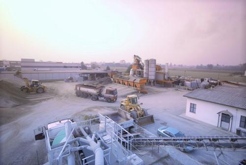 esempio di possibile cantiere industriale per la realizzazione della galleria verso Avigliana