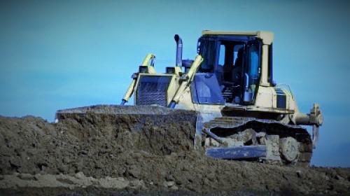 esempio di possibile movimentazione del materiale di scavo nell'area di deposito