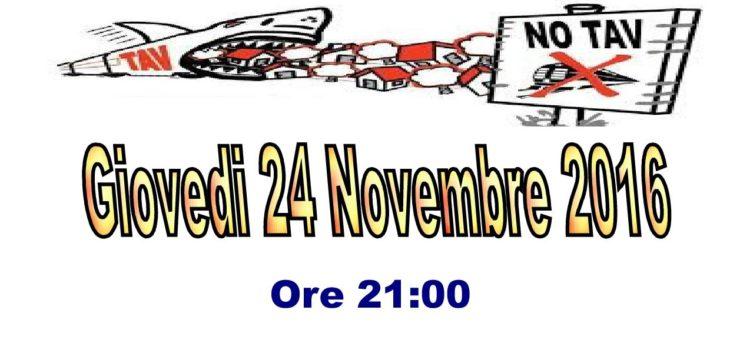 24 novembre: serata Informativa a Buttigliera