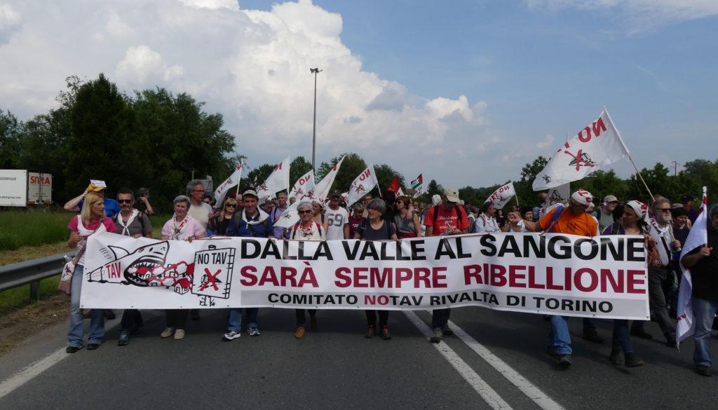 Manifestazione No Tav Rosta - Avigliana