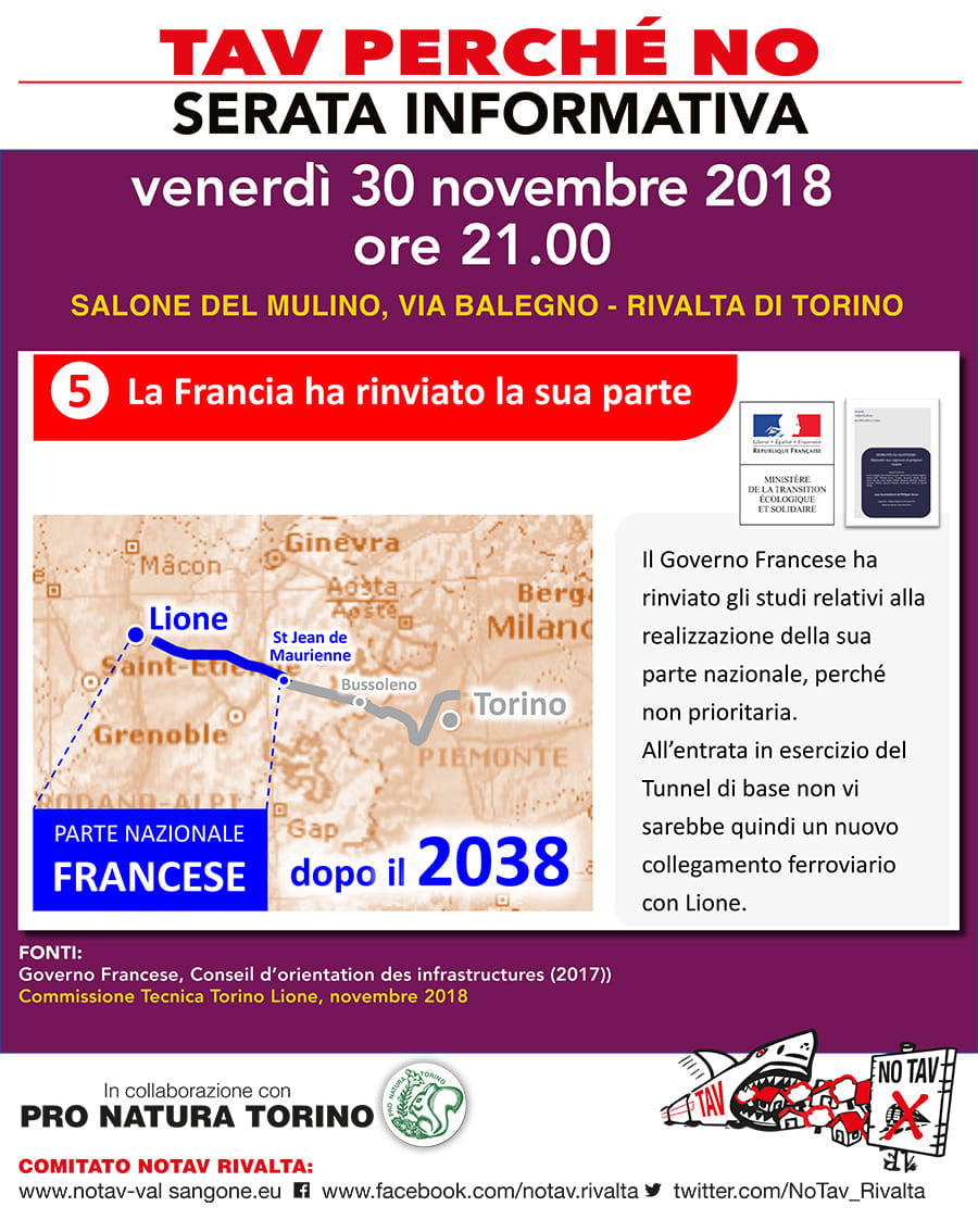 Serata 30 dicembre a Rivalta